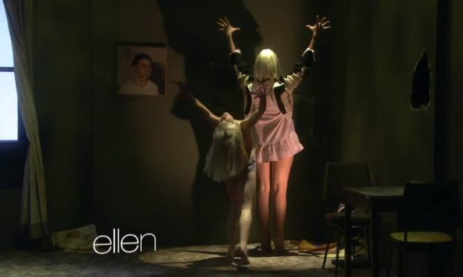 10 Moments In Sia Mad Ziegler S Chandelier Performance On Ellen That Will Give You Chills Video