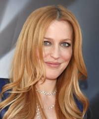 Gillian Anderson Natural Hair Color In 2016 Amazing Photo ...