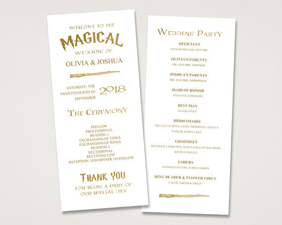 20 Harry Potter Inspired Wedding Accessories You Can On Etsy