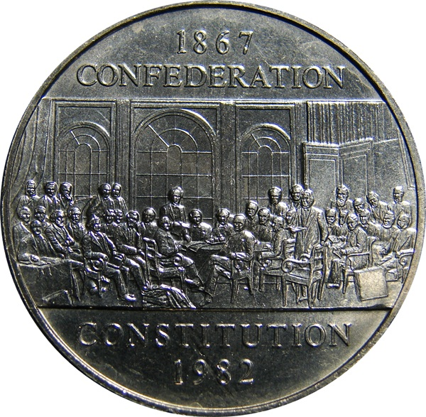 Canada 1982 Constitution Dollar Type Set Coin Collecting