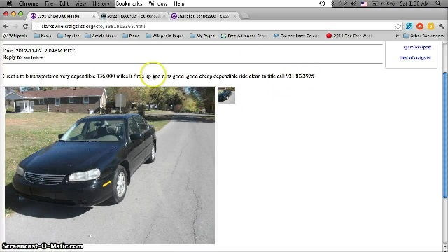 Craigslist Free Cars and Trucks By Owner (classic cars ...