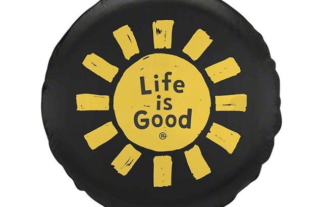 Life Is Good Jeep Tire Cover