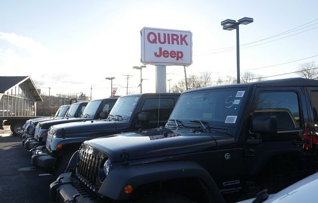 Quirk Jeep Dorchester