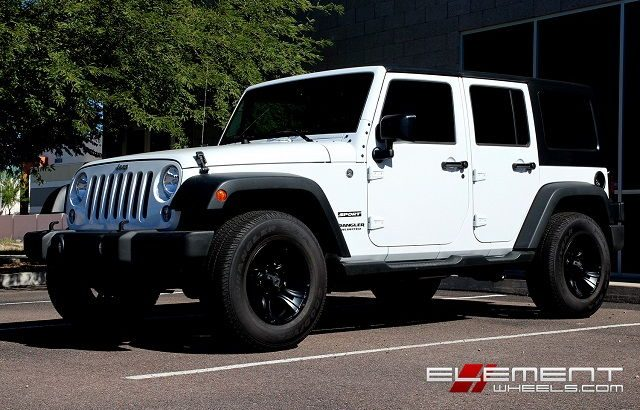 Jeep Wrangler Rims and Tire Packages