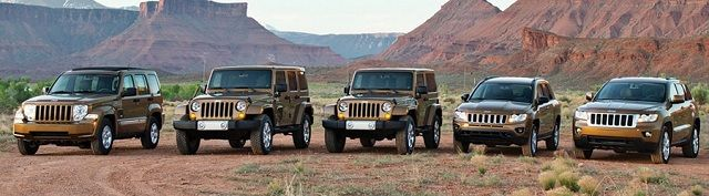 Different Jeep Models