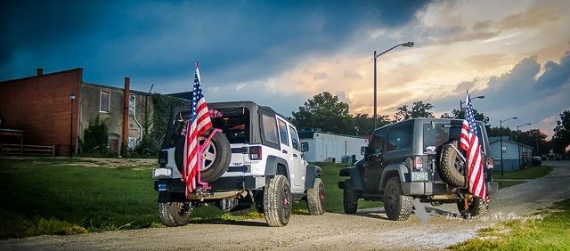 Jeep Flag Pole