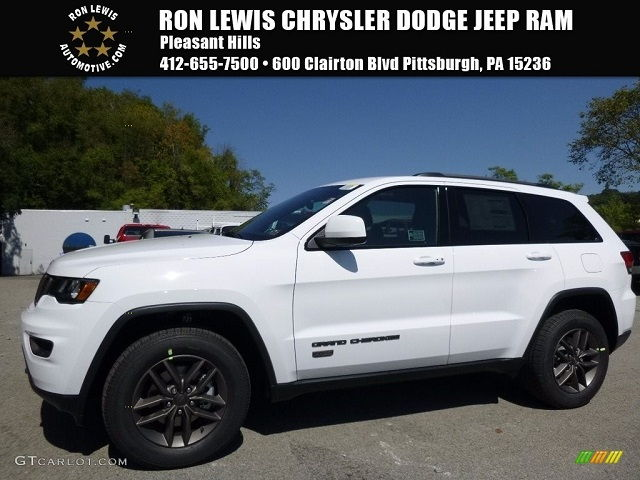 2017 Jeep Grand Cherokee Colors