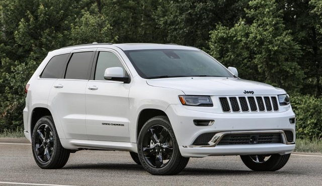 2016 Jeep Grand Cherokee msrp
