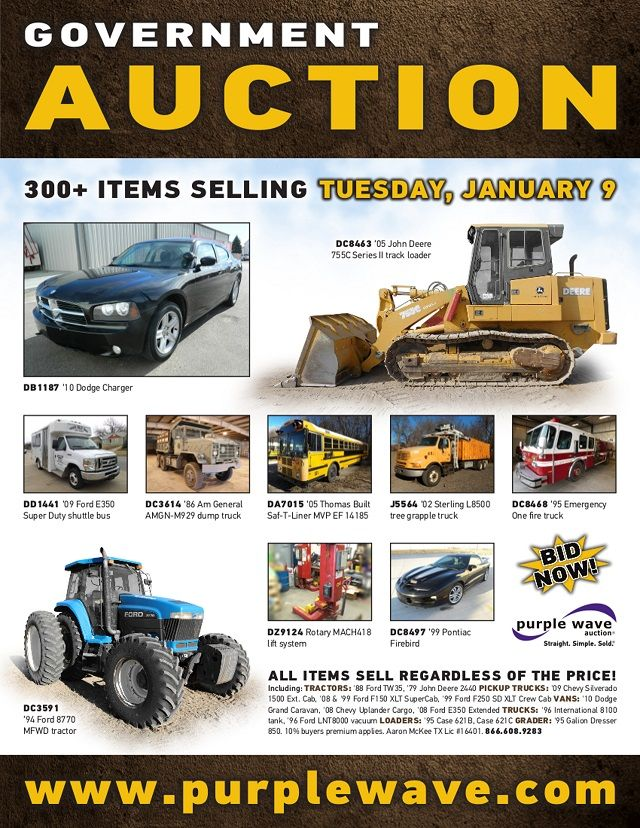 Gov Truck Auctions