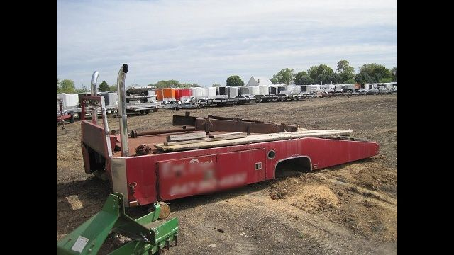 Ramp Truck Body for Sale