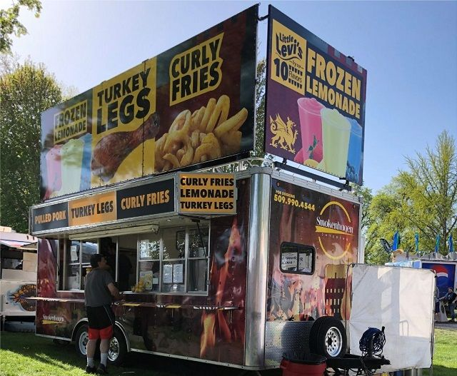 Food Trucks for Sale Spokane Wa