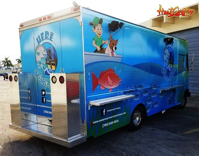 Heat Custom Food Trucks and Wraps