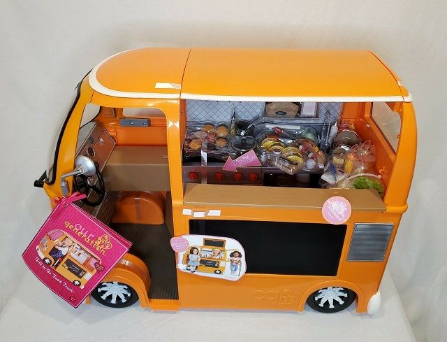 American Girl Doll Food Truck