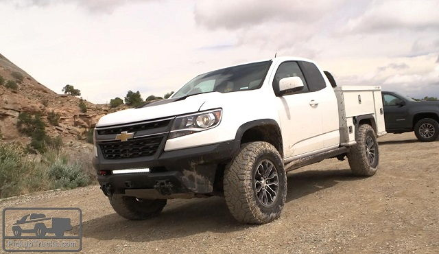 Chevy Colorado Utility Trucks For Sale