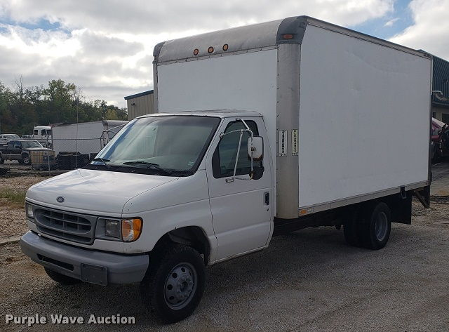 Ford E350 Box Truck For Sale