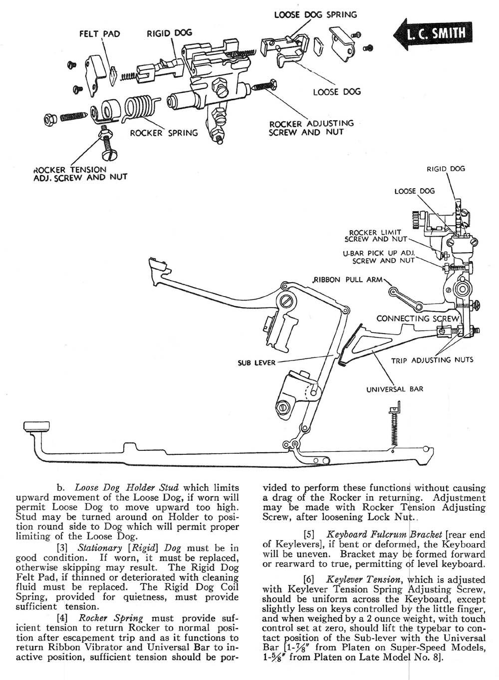 Escapement Action AMES OAMI Mechanical Training Manual
