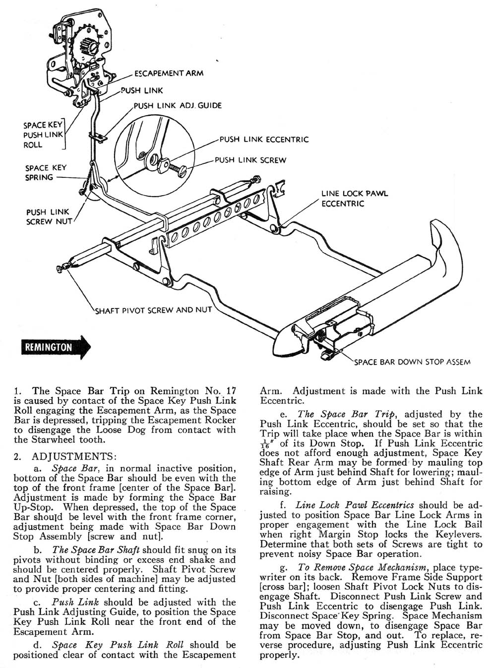 Space Bar AMES OAMI Mechanical Training Manual