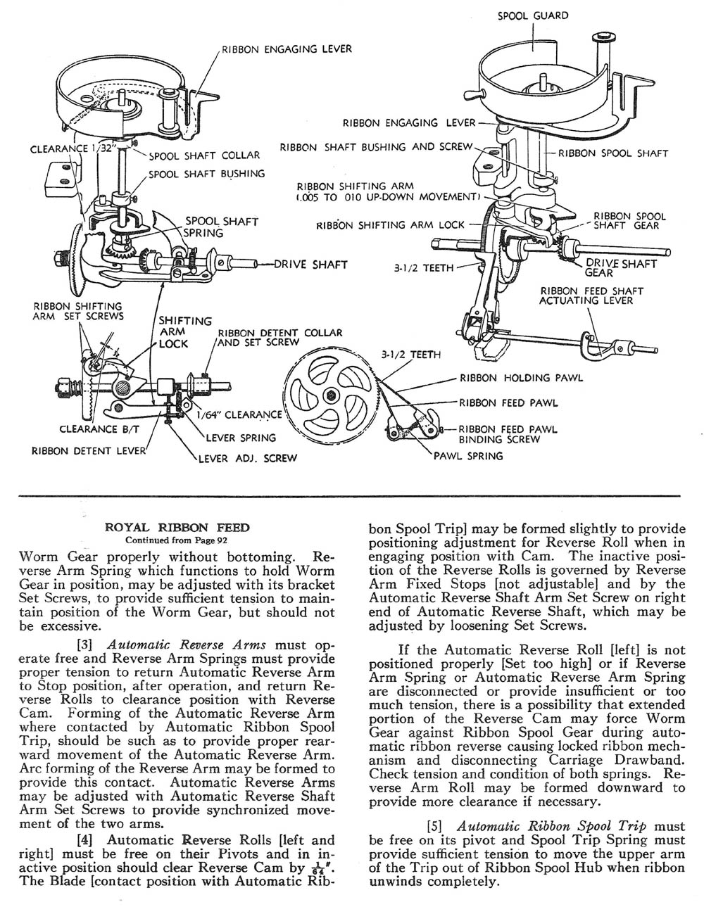 Ribbon Feed AMES OAMI Mechanical Training Manual
