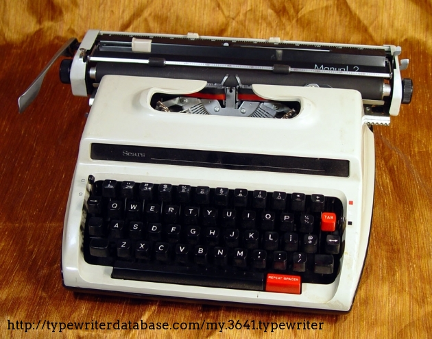 Blickensderfer Typewriter Electric