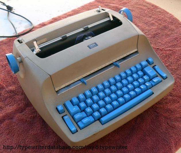 1963 IBM Selectric I Typewriter 4088598 TWDB