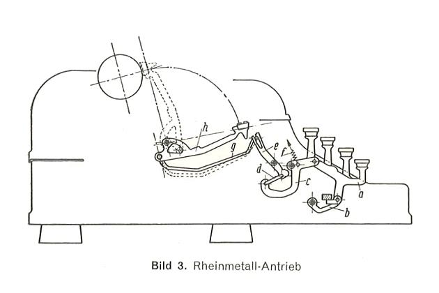 1960 Rheinmetall Gs Typewriter #198766 TWDB