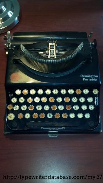manual typewriter diagram blank skeleton to label 1922 remington portable on the database