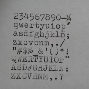1960 Olympia SF Typewriter #95-338449 TWDB