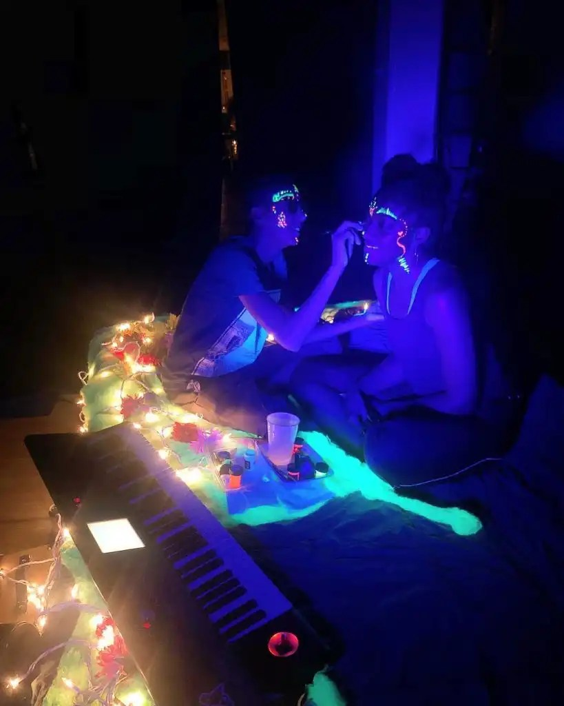 """""""Literary Creatures"""" by Billimarie Lubiano Robinson - Leigh and _xandie - Philly Fringe Fest, 2018"""