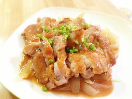 鶏肉のポン酢照り焼き