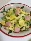 アスパラガスとチーズのシンプルマカロニサラダ
