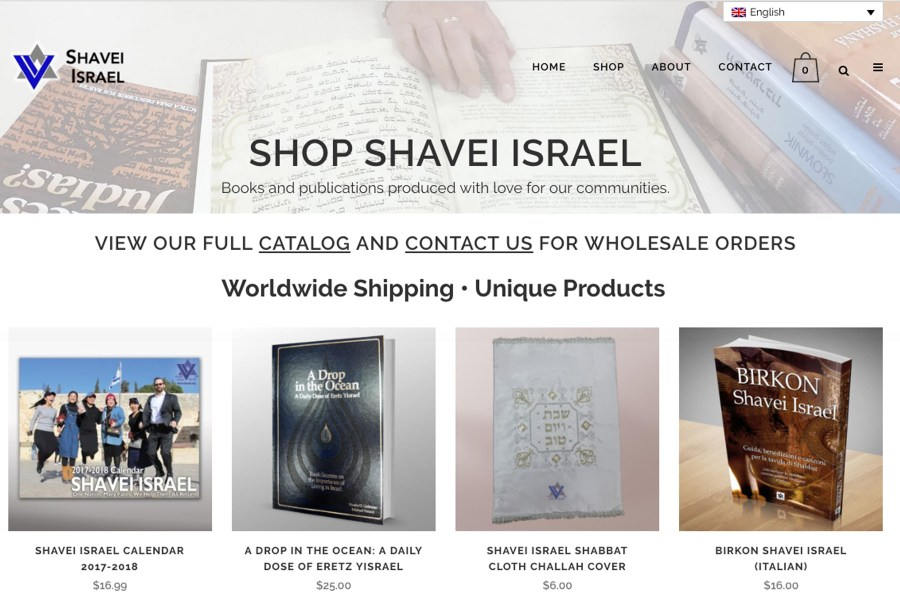 e-Commerce Storefront Website