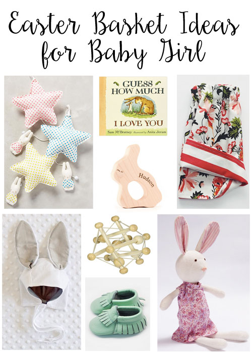 Easter basket ideas for baby girl typical katie negle Gallery