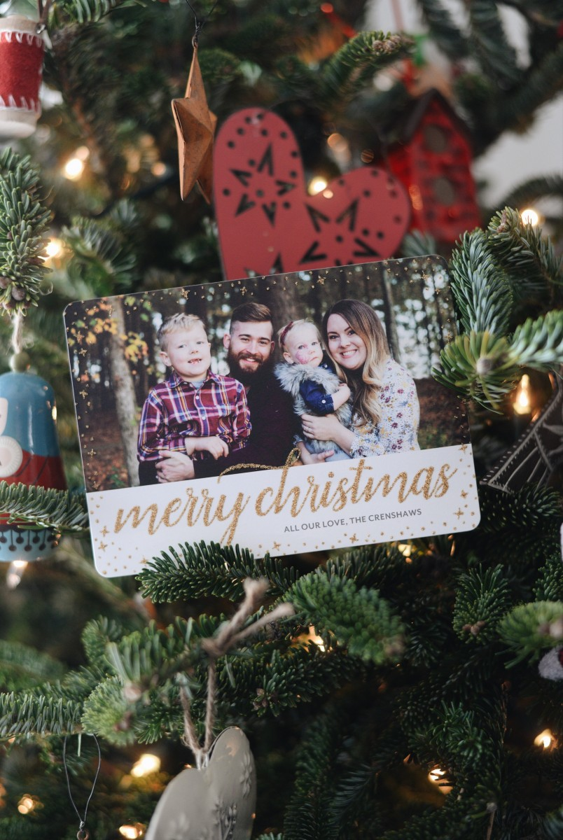 Holiday Greetings With Tiny Prints Typical Katie
