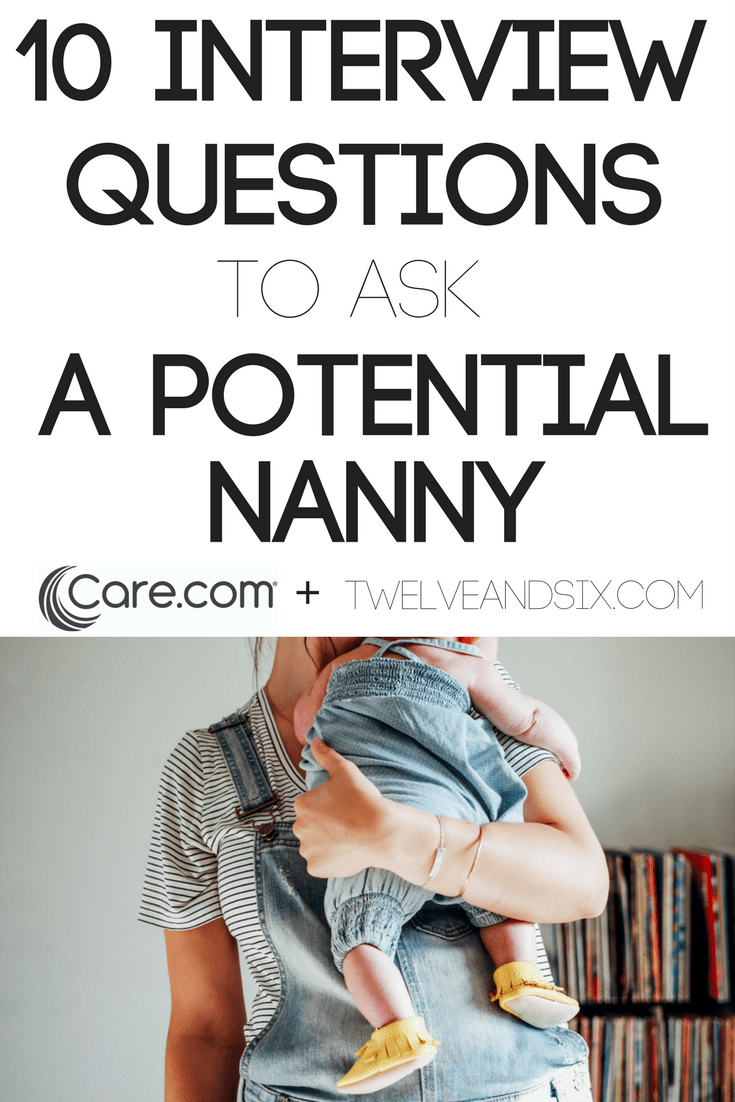 how to get a nanny job