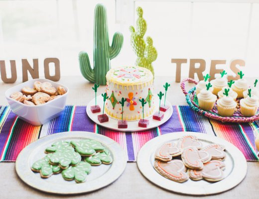 Mexican Fiesta Themed Birthday Party