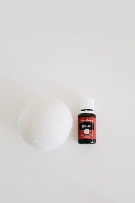 diy scented wool dryer balls