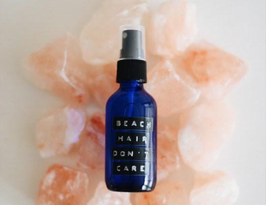 diy sea salt spray for hair