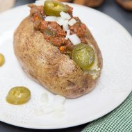 Whole30 Sloppy Joe Baked Potato