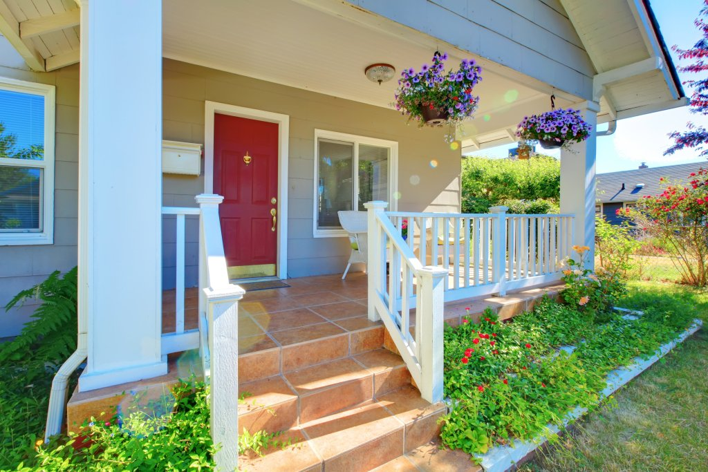 curb appeal landscaping flower beds