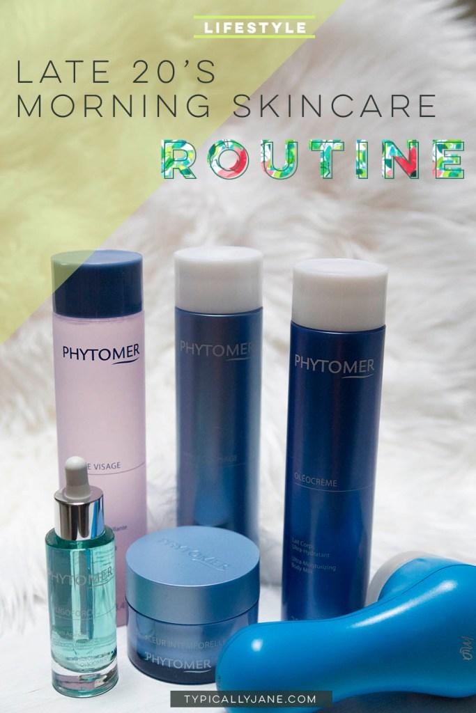 skincare routine, late 20's skincare routine, sensitive skin skincare routine