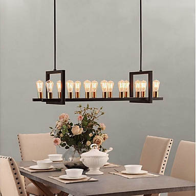 chandeliers and pendant lighting can really create a wow focal point in a room check out some of my favorites edison bulb chandelier - Modern Light Fixtures Dining Room