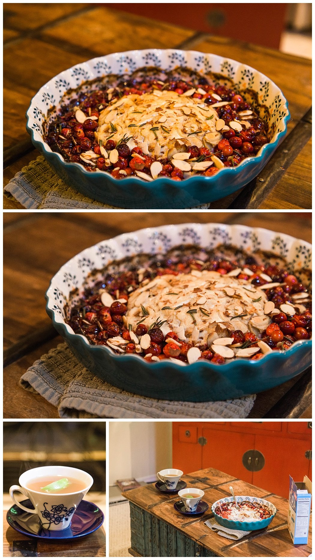Cranberry Goat Cheese Dip Thanksgiving Appetizer