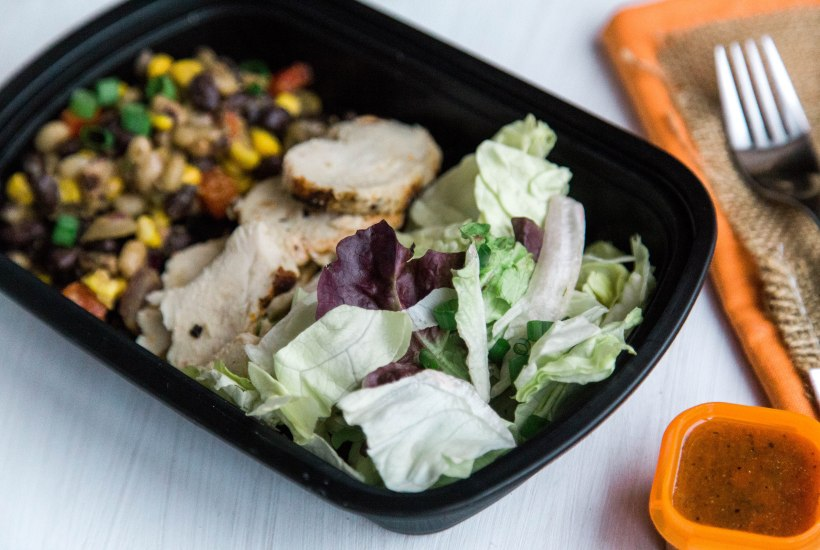 Sous Vide Southwest Chicken Salad - Perfect for Meal Prep lunch