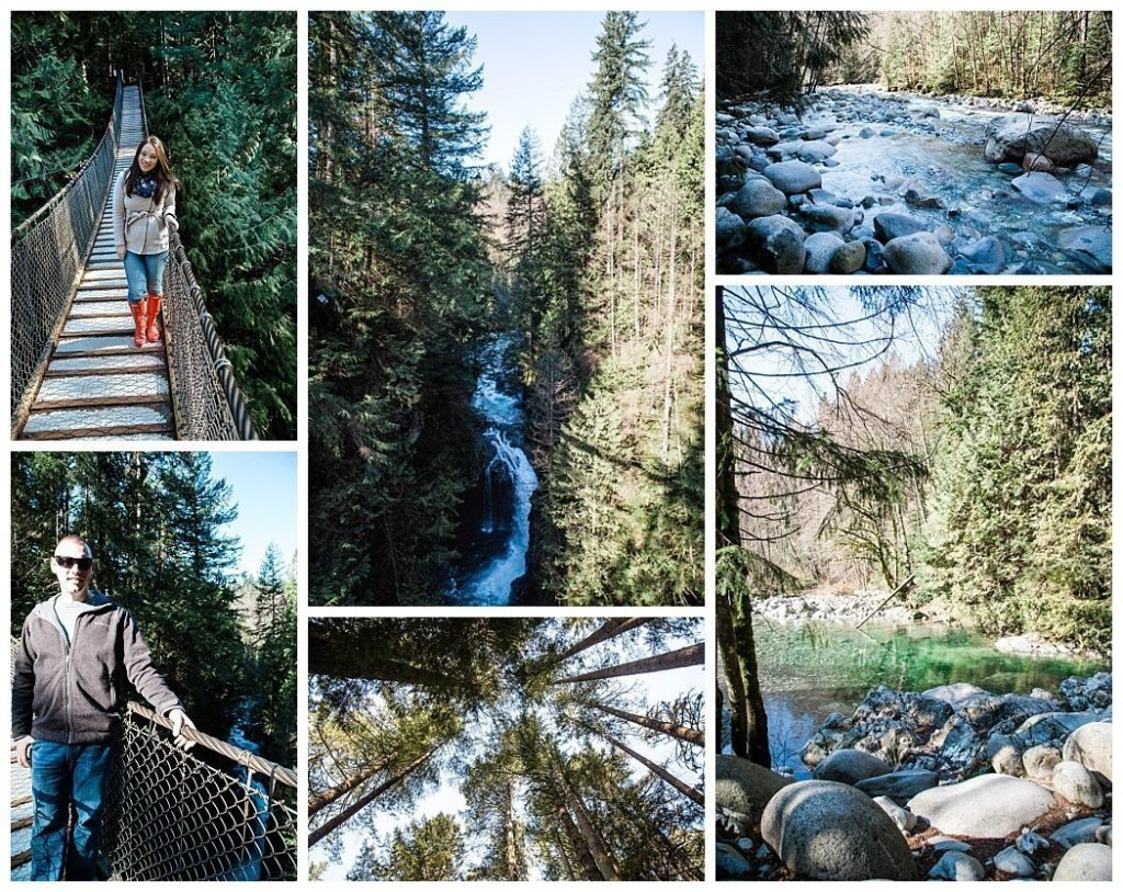 lynn canyon suspension bridge vancouver bc