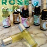 DIY Rose Facial Oil - Make your own facial oil with essential oils
