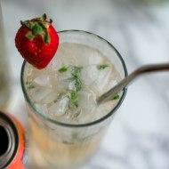 Bubbly Grapefruit Mint Cocktail