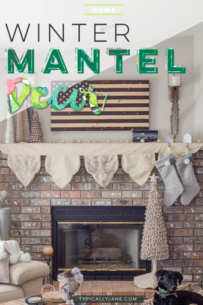 DIY, Christmas Decor, Cozy, Neutral, Fireplace, Mantel, living room, dining room, white, ideas, modern, classic, on a budget