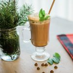 homemade hot chocolate, essential oil drink, hot cocoa mix, holiday drinks