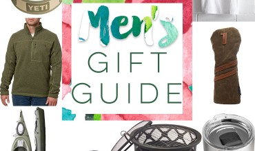 Gift Guide for Men (Plus a Giveaway)