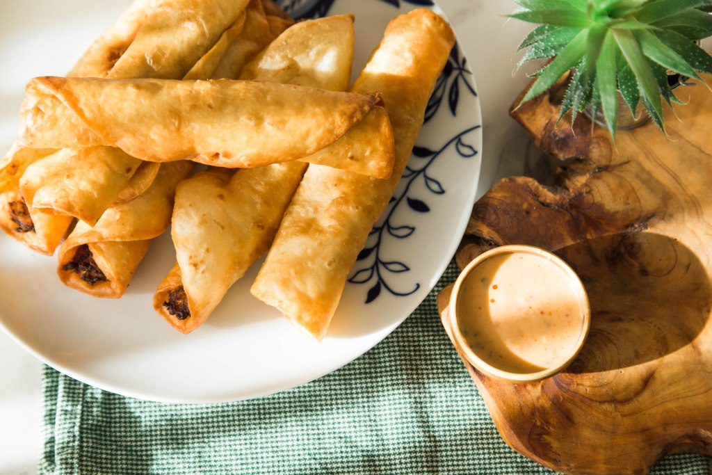 indian curry taquitos are the perfect super bowl appetizer food idea or weeknight dinner that makes everyone happy